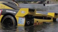 Newfoundland Ferrari Crash Video Goes