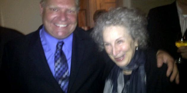 Doug Ford Meets Margaret Atwood After Saying He Wouldn't Recognize Her During Libraries