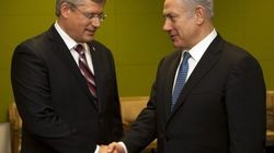 Harper, Netanyahu Argue Against Palestinian Statehood At