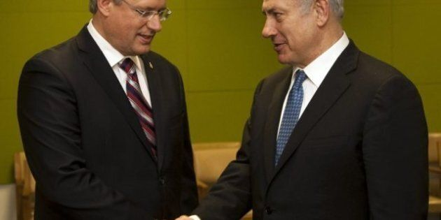 Harper At The United Nations: PM Lobbies Against Palestinian Bid For Statehood In Meeting With Israeli...