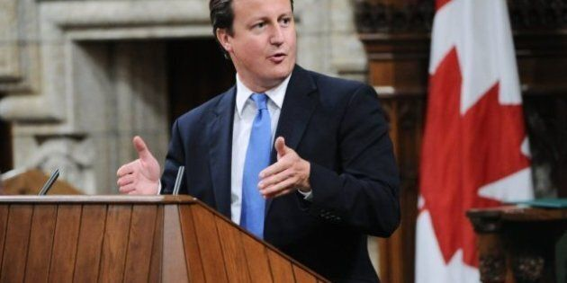 British Prime Minister David Cameron Issues Grim Economic Warning In Speech To Parliament In