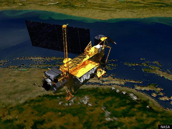 New Footage Of Dead NASA Satellite Scheduled To Fall To Earth (PHOTOS,