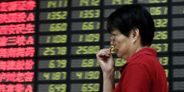 China Economic Slowdown Spooks Global