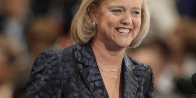 HP Shares Sag After Whitman Named