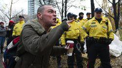Police Surround Occupy