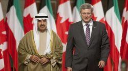 Harper Seeks Air Deal During Kuwaiti PM's