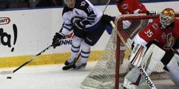 Jets Top Sens As NHL's Hockeyville Invades