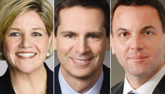 Jobs And Taxes Dominate Ontario Leaders