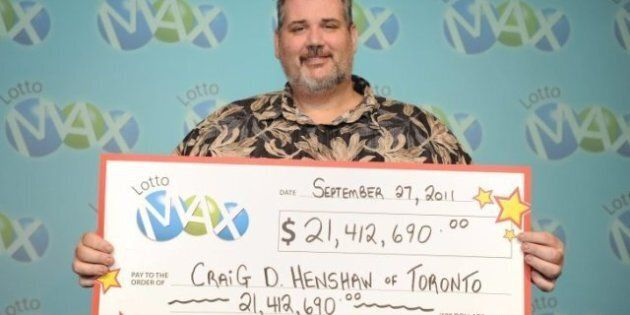 Craig Henshaw, Toronto Teacher, Backpacks Europe Unaware Of $21-Million Winning Lotto Max Ticket On