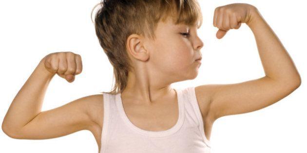 Boys And Body Image: Boys Want Average-Sized