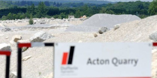 'Mega-Quarry' Protesters Gather At Queen's