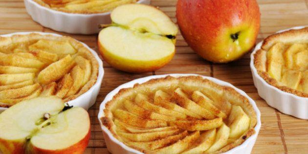 Thanksgiving Day Dessert: No-Bake Apple Nut Tart