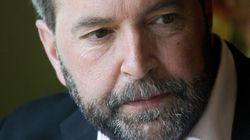 Mulcair To Run As Julian Bows Out Of NDP