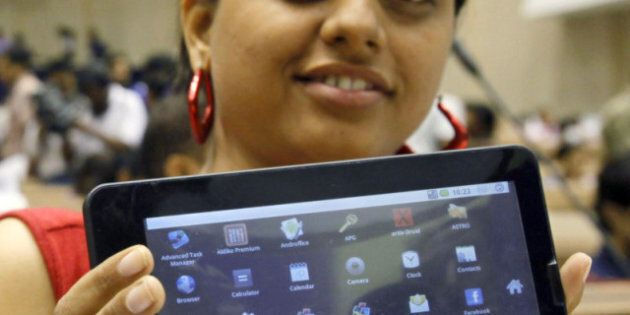 Aaakash, India's $35 Tablet, Designed To Help Lift Villagers Out Of