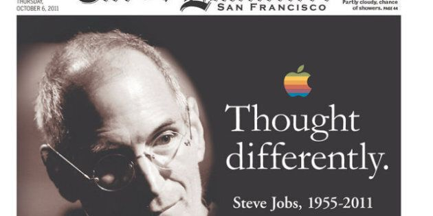 Steve Jobs' Legacy: Front Pages Mark Passing Of Apple
