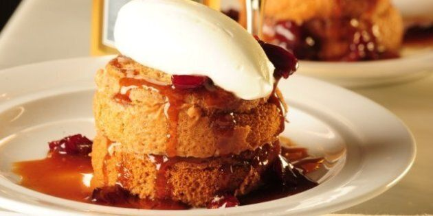 Lynn Crawford's Pumpkin Sticky Toffee Pudding