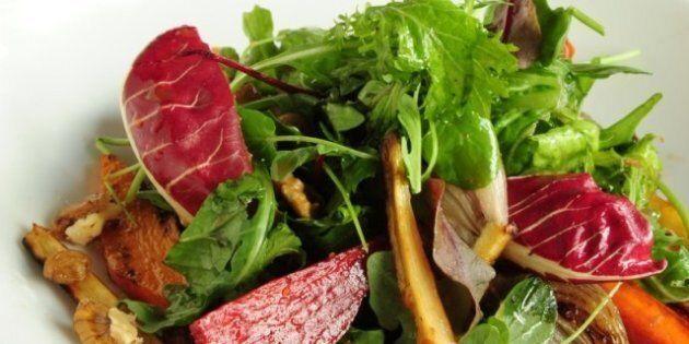 Lynn Crawford's Vegetable, Raisin And Walnut Salad