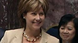 B.C. Premier's Cleavage Sets Off Twitter