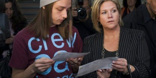 Ontario Election: T-Shirt Worn By Andrea Horwath's Son Raises Eyebrows Over Band's Misogynistic