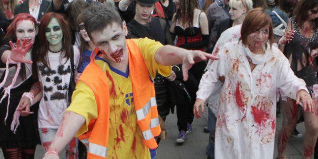 Resident Evil: Retribution Accident Injures Zombie