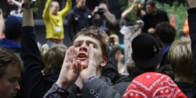 Adbusters Founders Cheer As Occupy Wall Street Protests Arrive In