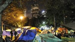 Day 2 Of Occupy Toronto Loses