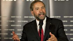 Mulcair Rules Out Merger Between NDP And