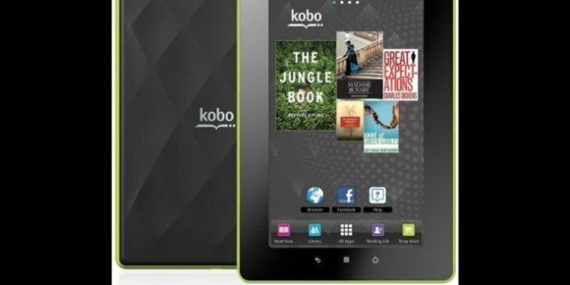 Kobo Vox Tablet: Canadian Ebook Company Releases Full-Colour