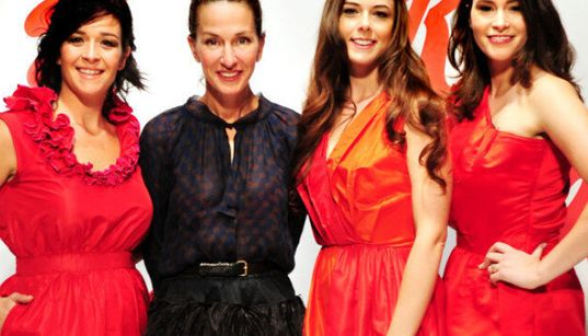 Wearing Red: Yes, You Can -- Cynthia Rowley Shows Us