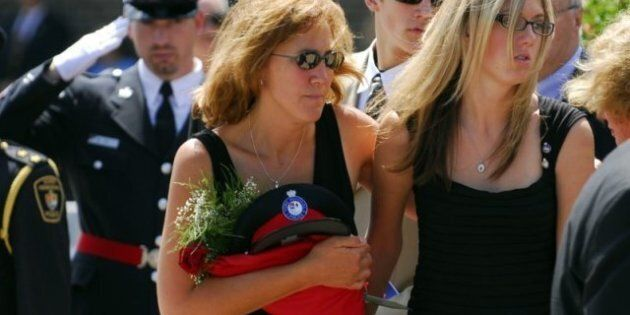 Sonja Plunkett, Widow Of York Regional Police Officer, Reaches Out To Family Of Garrett