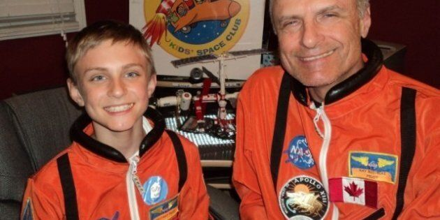 Canadian Cancer Survivor Gives Gift Of Shuttle Launch To