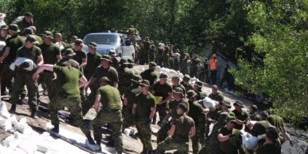 More Troops Deployed To Protect Manitoba Town From