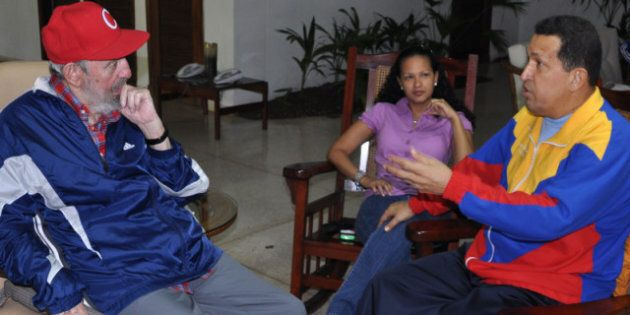 Hugo Chavez Returns To Venezuela From Cuba After Surgery For Cancerous