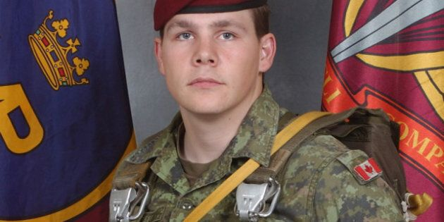 Canadian Soldier Master Cpl. Byron Greff Killed In Kabul, Afghanstan By Suicide Car