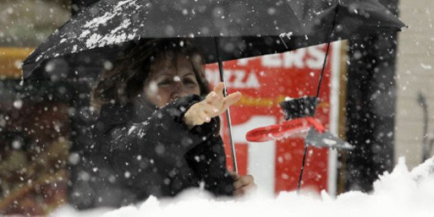 Winter Storm Kills Power To Thousands In Eastern Canada,