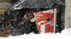Early Winter Storm Hits Eastern