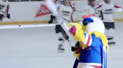 Budweiser Ad Surprises Rec League Hockey