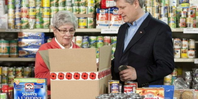 Canada's Food Bank Usage Stuck At Recessionary Levels In 2011: