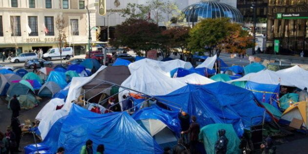 Occupy Vancouver: Woman Dead After Being Found 'Unresponsive' By