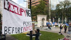 Occupy Nova Scotia Protesters Move For Remembrance