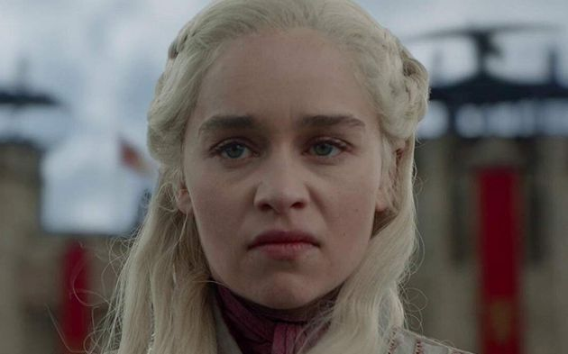 Daenerys Targaryen tem olhos