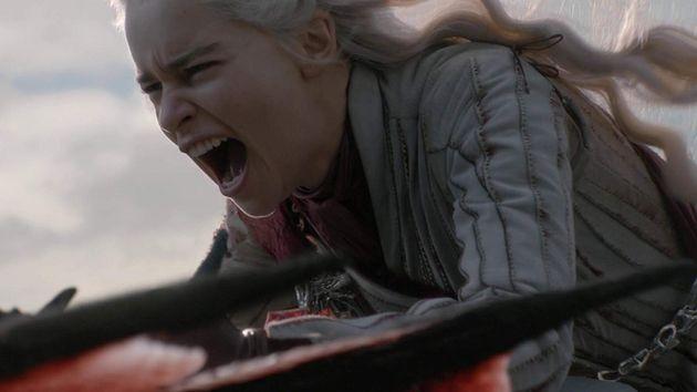 Misericórdia não é um dos fortes deDaenerys Targaryen (Emilia Clarke) no episódio...