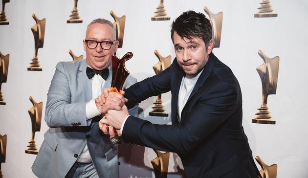 Soirée Artis 2019: quand Alexandre Barrette se prend pour Guy