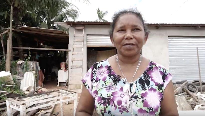 Maria Edina nunca conseguiu vaga em creche ou escola infantil para os