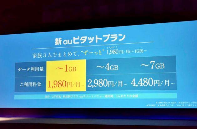 auが『最大4割値下げ』新プラン発表。データ無制限プランも夏に提供へ