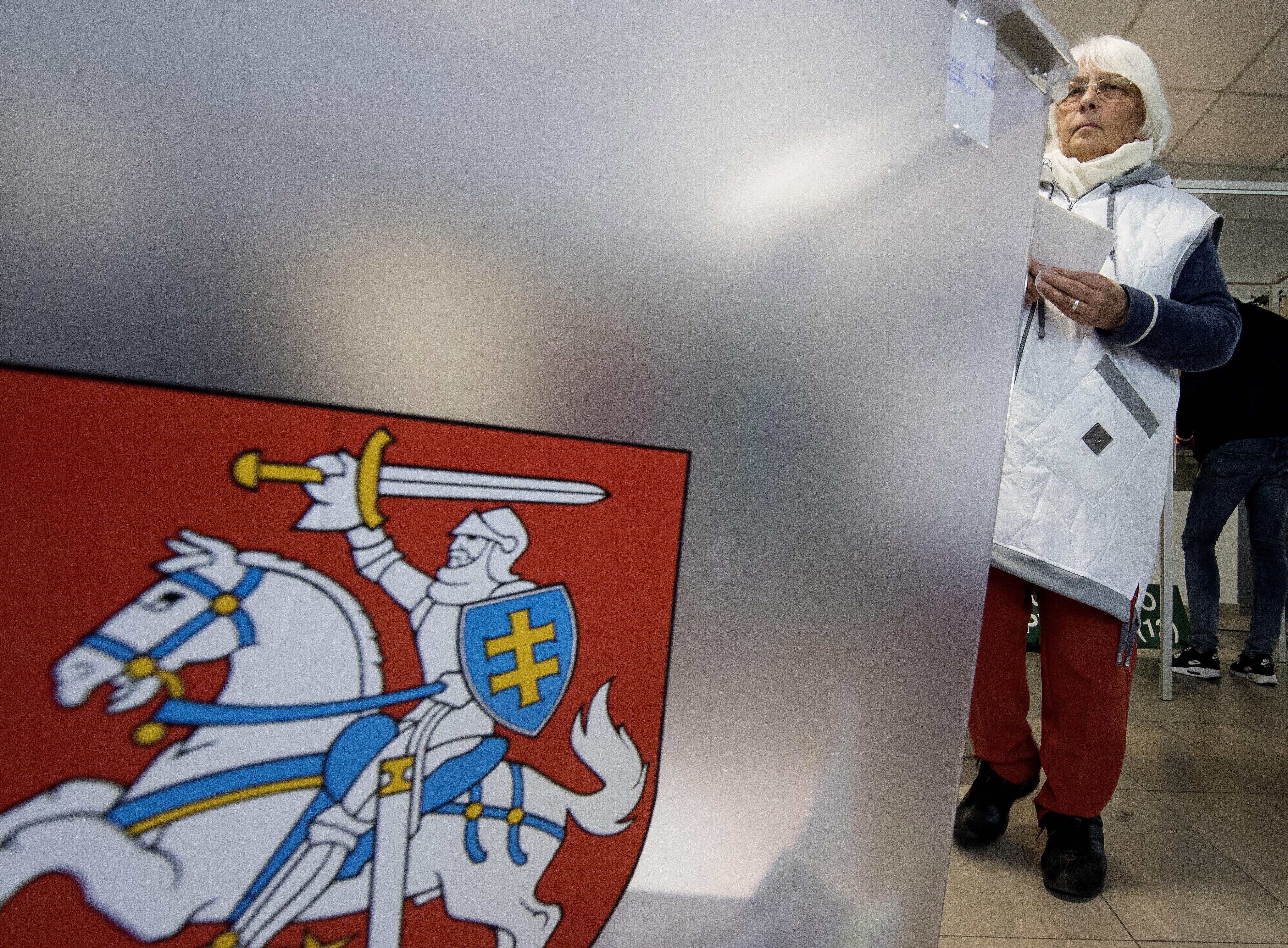 Ήττα του πρωθυπουργού της Λιθουανίας - Ποιοι περνούν στον δεύτερο γύρο των προεδρικών