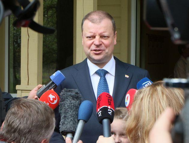 Ο λιθουανός πρωθυπουργός...