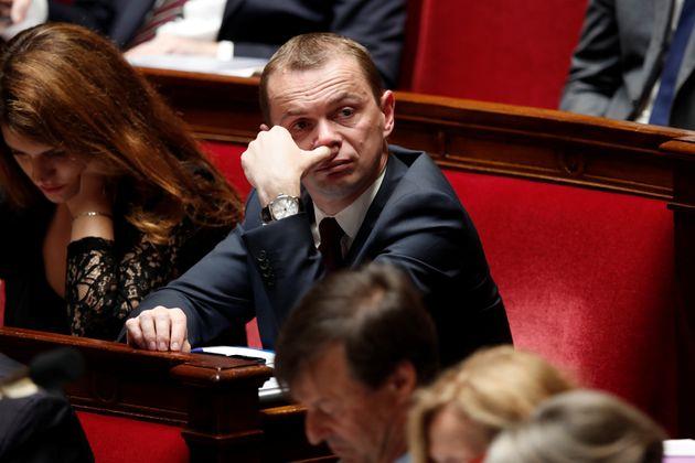 Olivier Dussopt,secrétaire d'Etat chargé de la fonction