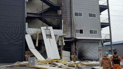 제천의 한 공장에서 폭발 사고가