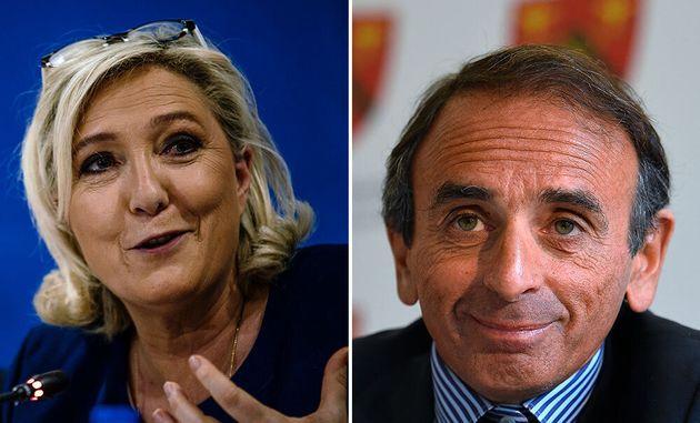 Marine Le Pen a bel et bien offert à Éric Zemmour d'apparaître en troisième...